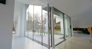 SL 38 Aluminium Sliding Doors, Bolton