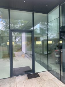 Aluminium Entrance Doors UK
