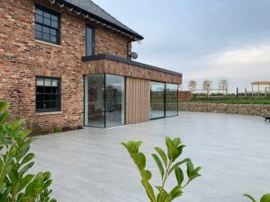 Bespoke Frameless Effect Glazing Bolton